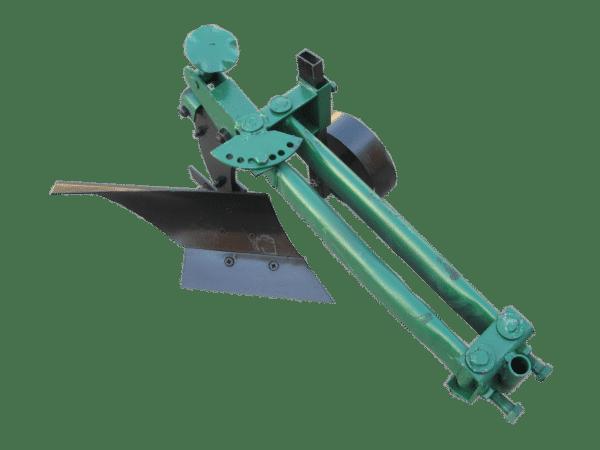 Плуг для мотоблока с водяным охлаждением с опорным колесом ПМ-1-22