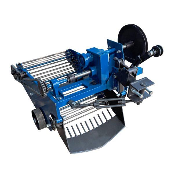 Картофелекопалка вибрационная транспортерная (со смещением прицепного) для мототрактора с гидравликой (Скаут) (КК22)
