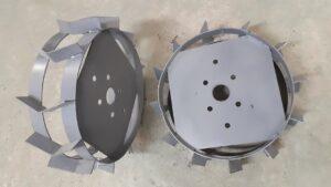 Заказать железные (металлические) колеса для мотоблока
